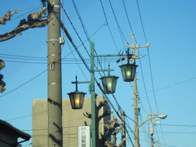蒲郡 街灯