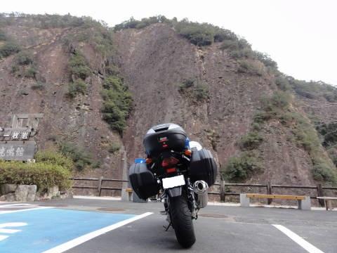 古座川峡一枚岩