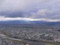 0131128天守より関ヶ原