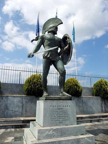 レオニダス像
