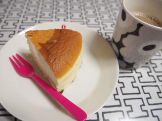大阪土産のケーキ