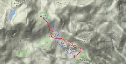 白馬乗鞍地図