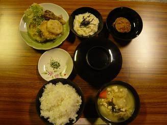 精進料理 before