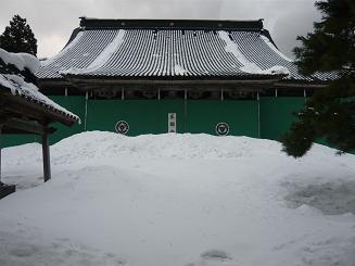 雪の正願寺