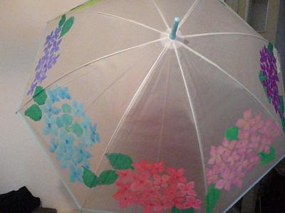 傘アート②