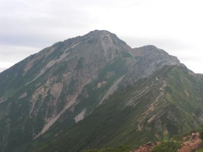 五竜岳目指します