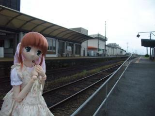 あさぎり駅2010-03