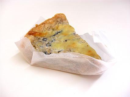パン焼き工房ノイエ ひじきの玄米キッシュ