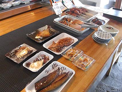 食事処 地魚屋 たきわ 焼き魚、お惣菜