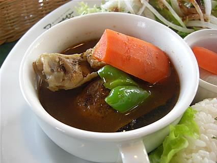 カフェ レストラン ターブル・ドゥ・リバージュ ワンプレートランチ(スープカレー)