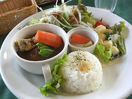 カフェ レストラン ターブル・ドゥ・リバージュ ワンプレートランチ(1300円)