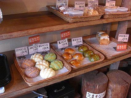 気ままなパン屋 窯蔵 店内