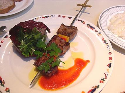 ベイサイドレストラン みなとの森 みなとの森ランチ(肉料理)(1200円)