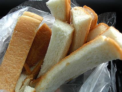食事処 とんかつ しげ作 カツサンド パンの耳