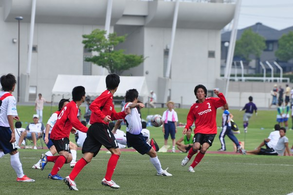 愛知県最終予選 vsトヨタ蹴球団10