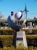 JR桐生駅 名称不明モニュメント
