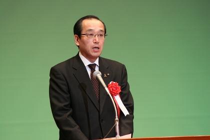 松井広島市長による祝辞