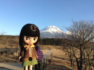 ぷちっこと富士山♪