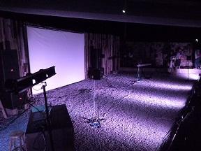 ステージの全景