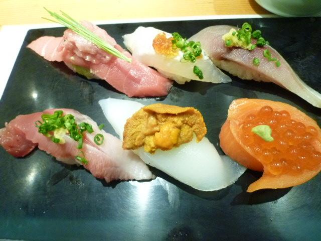 江戸前というより創作寿司