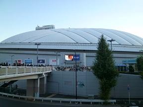 東京ドーム到着!!