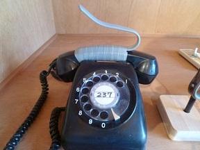 受話器のハンドル