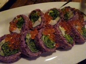 黒米の巻き寿司