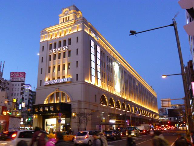 シドニーのQVBみたいな重厚な建物です