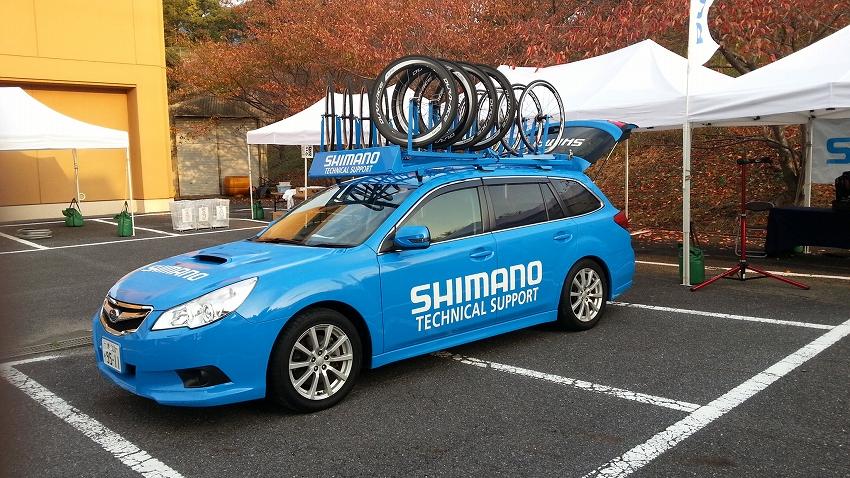シマノオフィシャルカー