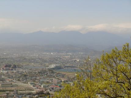 茶臼山から赤城山