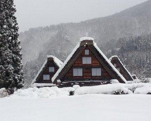 かん町 附近 冬の絶景