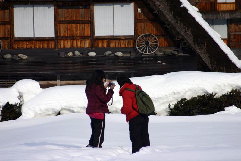 雪国ならではの視界すべてが真っ白に染まる銀世界を堪能!世界遺産 白川郷合掌集落 ⑧