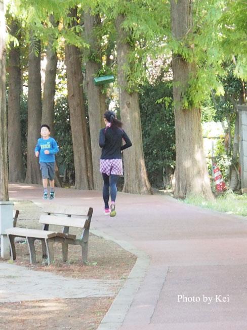 ジョギング♪