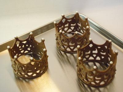 チョコ王冠