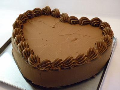 ハートケーキ土台