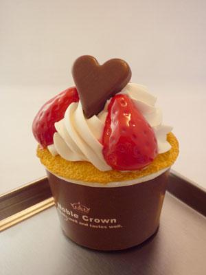 いちごカップケーキ