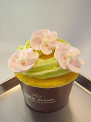 お花のカップケーキ2