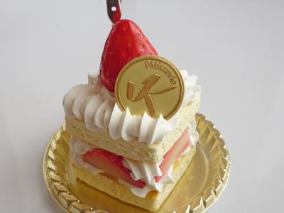 いちごケーキ桐生
