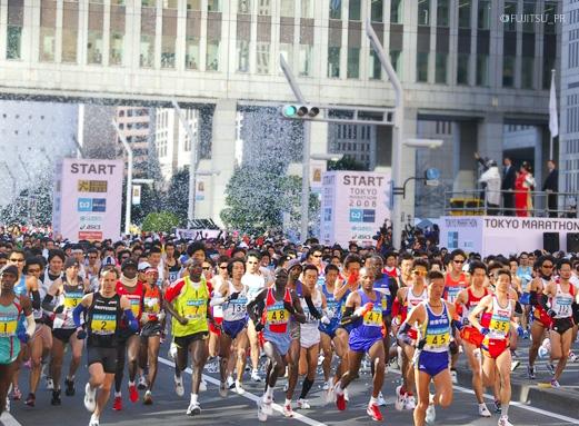 東京マラソン