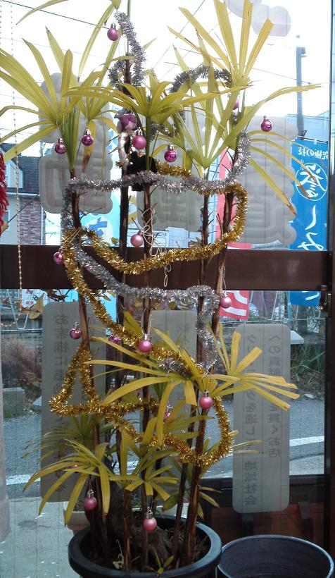 H23クリスマス店装・外周り編 (3)