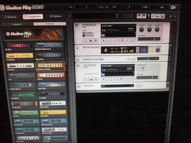 BEHRINGER ( ベリンガー ) / UCG102 Guitar LinkPC画面