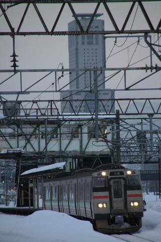731 苗穂駅発車