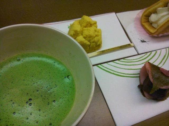 11022707抹茶&お菓子3
