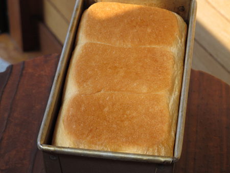 白神こだま酵母 食パン1