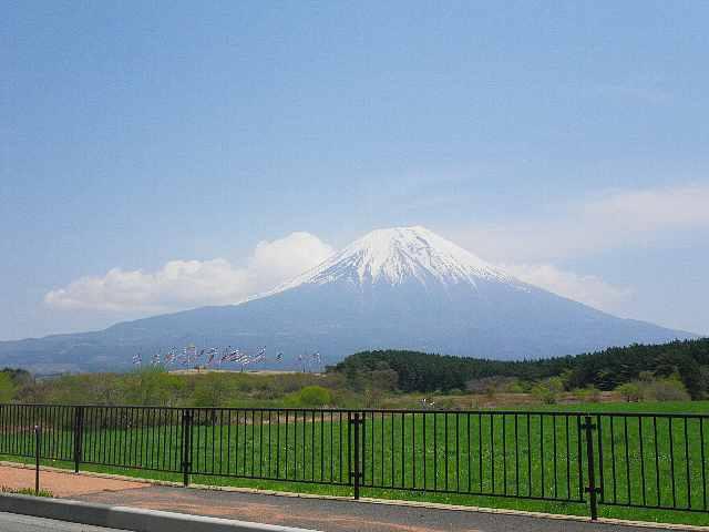 朝霧高原からの富士山