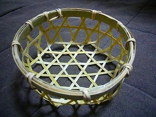 竹かごミニ1