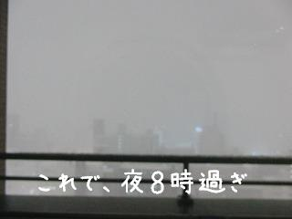 夜間吹雪0212
