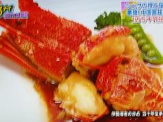 伊勢海老の炒め 五十年伝承の北京ソース