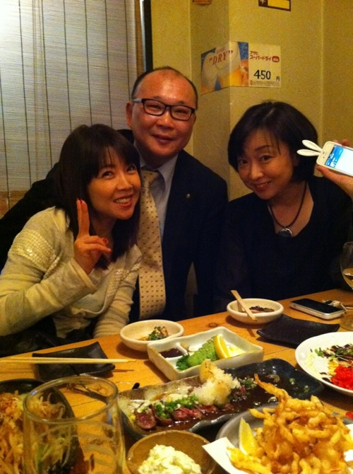 伊藤つかささん、直江喜一さん、川上麻衣子さん