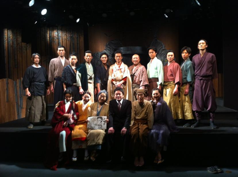 直江喜一さん舞台写真